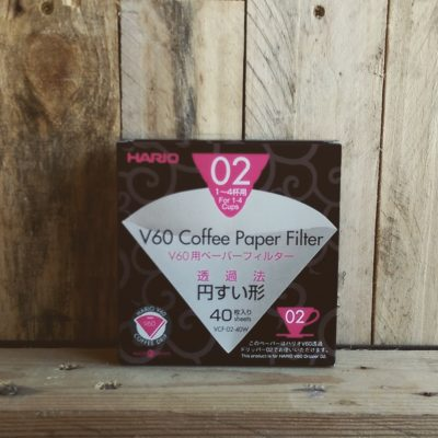 CG V60 02 Filter Papers x40