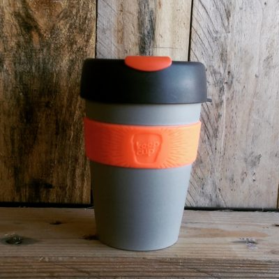KeepCup12 Grey & Orange