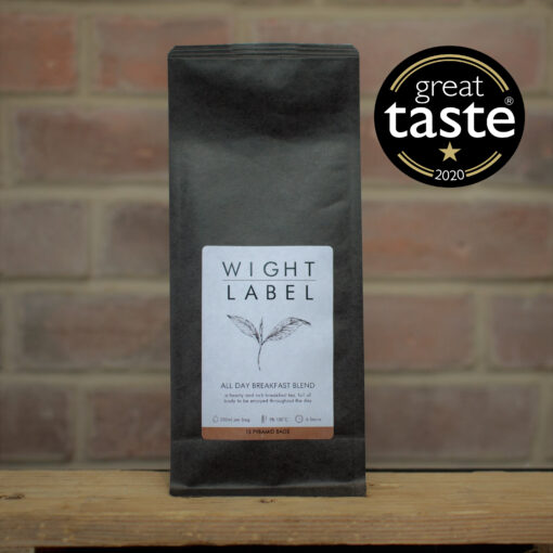 Wight Label Tea All Day Breakfast Blend - Great Taste Awards 2020 Gold Star award