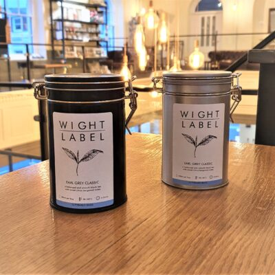 Wight Label Tea - Filled Tea Caddy - Earl Grey Classic
