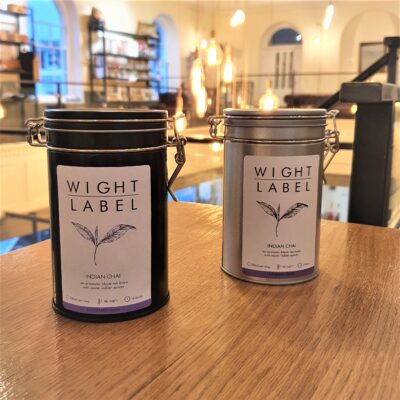 Wight Label Tea - Filled Tea Caddy - Indian Chai