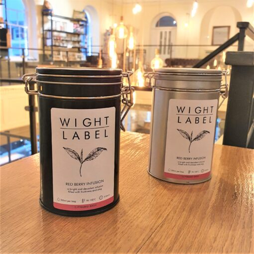 Wight Label Tea - Filled Tea Caddy - Red Berry Infusion